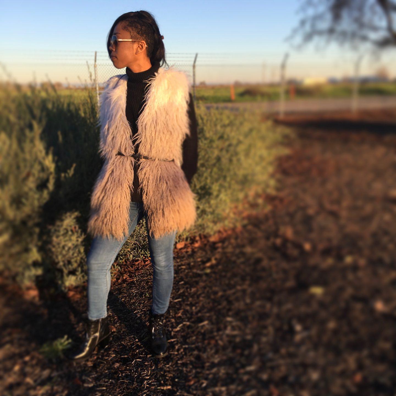 NY&C Fur Vest