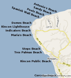rincon-beaches-map