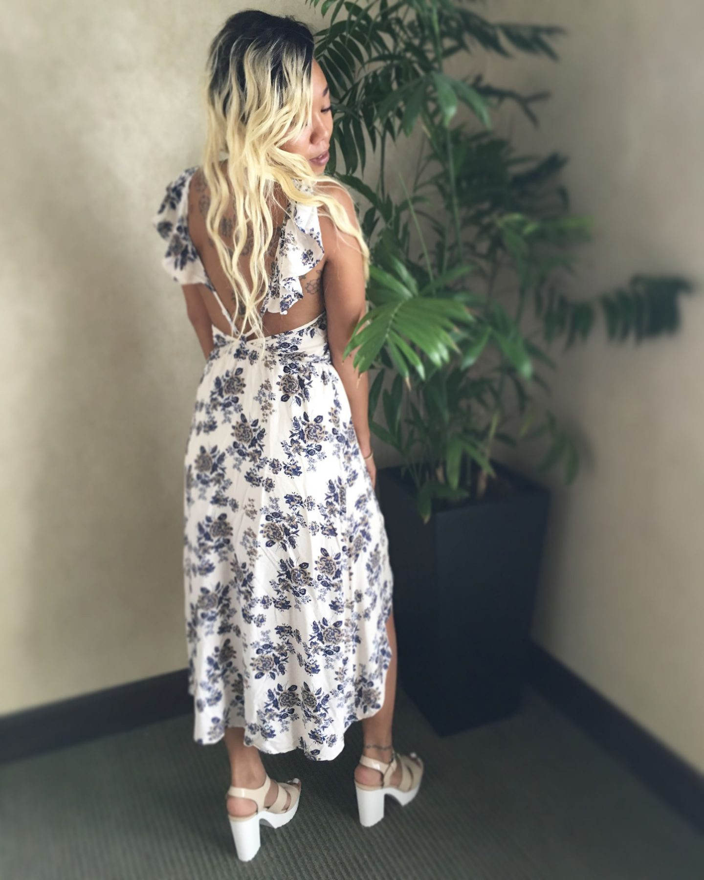 Perfect Summer Floral Dress