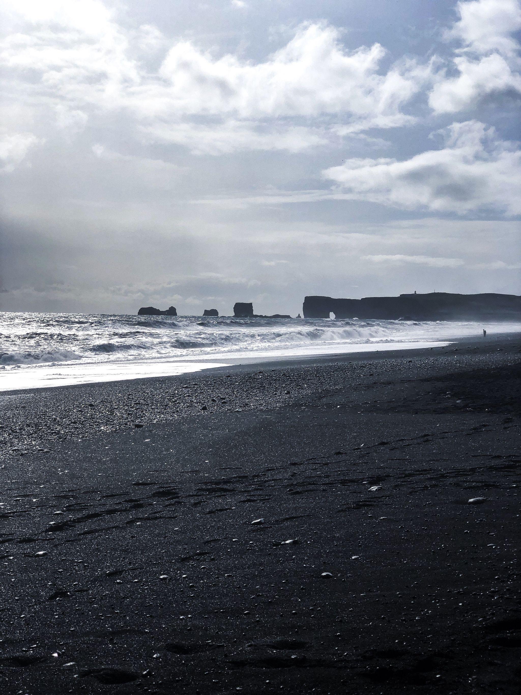 Kirkjufjara Beach, Iceland