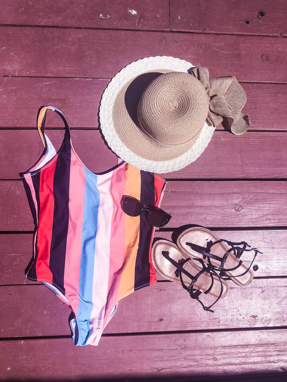 Color Block Bikini