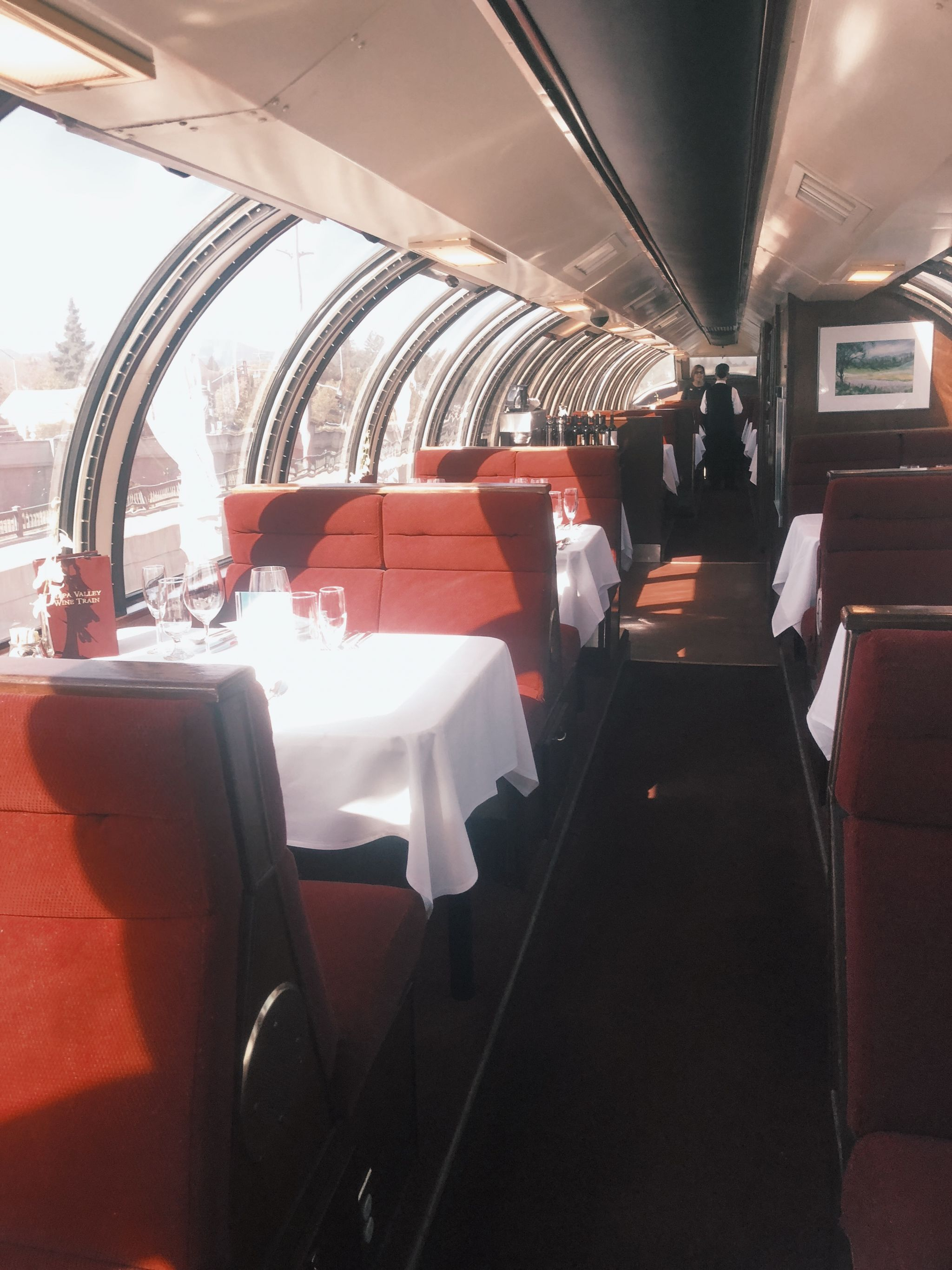 Napa Valley Wine Train Vista Dome