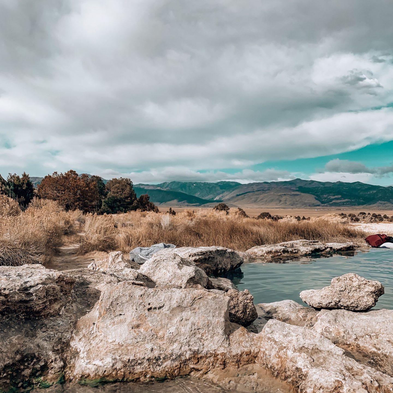 Travertine Hot Springs, Bridgeport, CA. Eastern Sierra Nevada