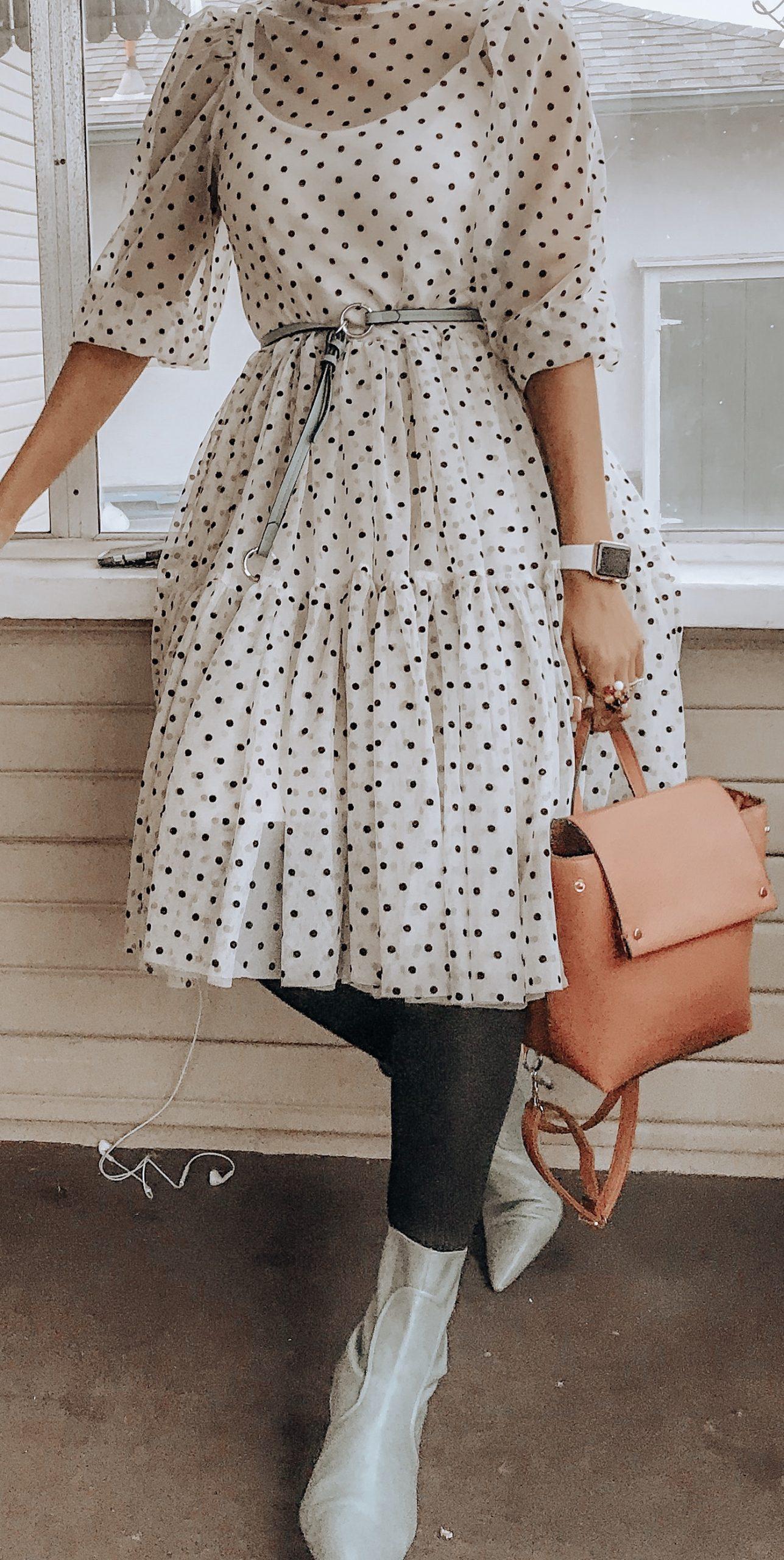 Holiday Look Book Day 13 – H&M Polka Dot Dress