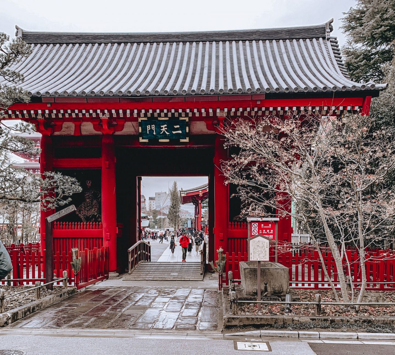 Asakusa Sensoji Temple Tokyo Japan