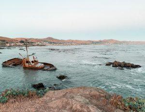 Sunken Ship Morro Bay