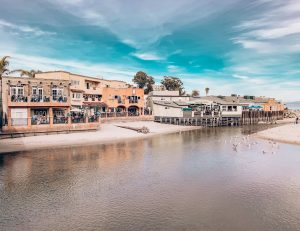 Capitola Village, Capitola River