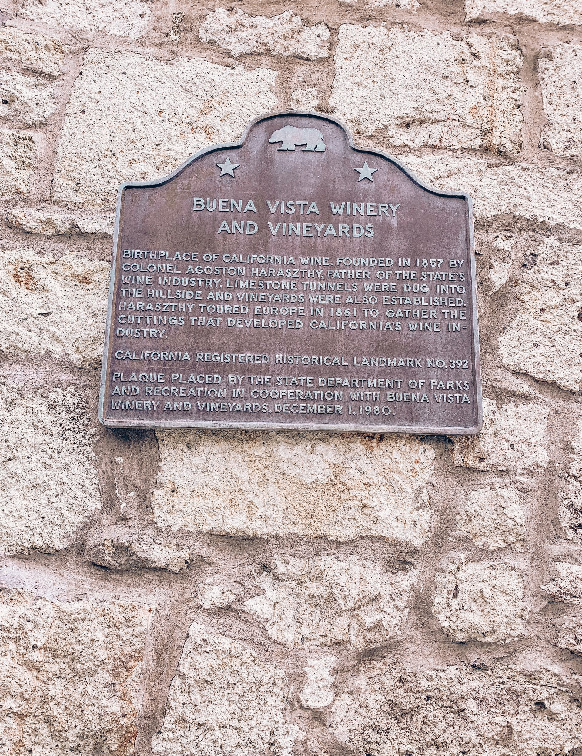 Buena Vista Winery and Vineyards