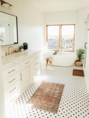 Bathroom Remodel Inspiration modern twist