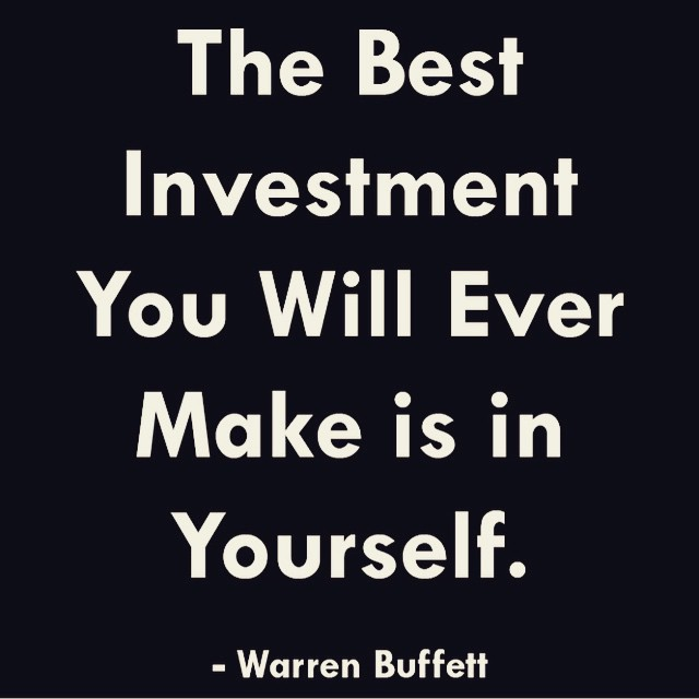 Money Mondays Part 4 – Invest in Yourself